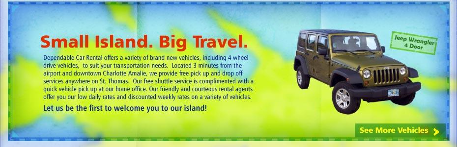 Dependable Car Rental St Thomas Us Virgin Islands Vehicles